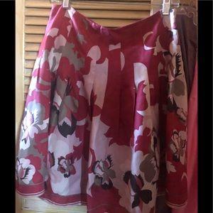 Silk Elie Tahari skirt